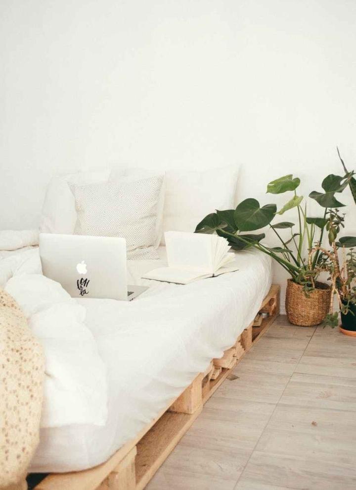 Planten in de slaapkamer bevorderen jenachtrust