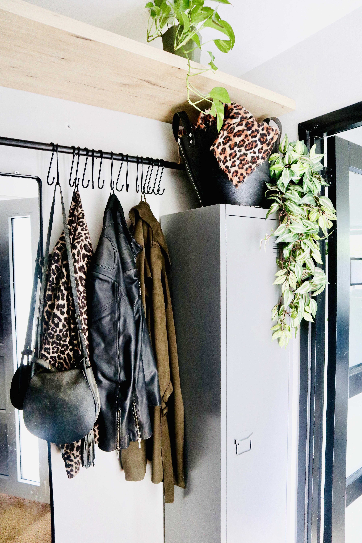 Verbazingwekkend DIY kapstok van steigerbuis – Interieur & Lifestyle ND-83