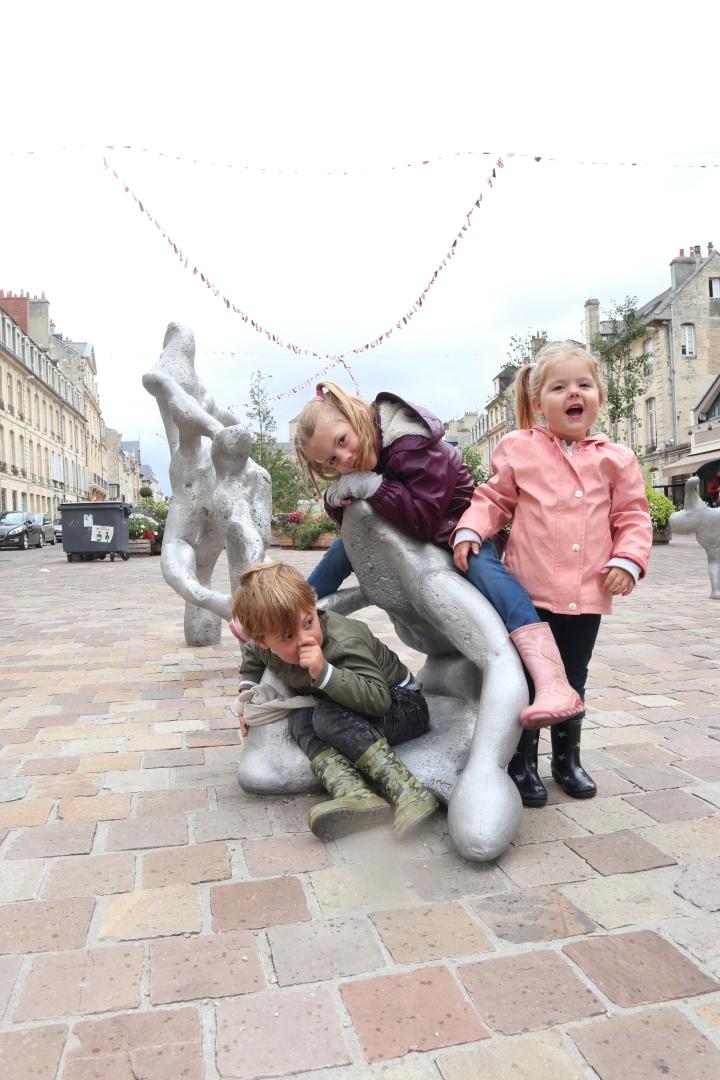 Drie kinderen in driejaar