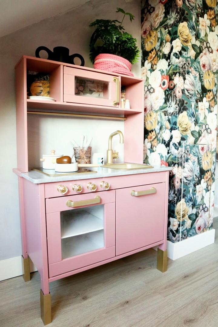 DIY Ikea Duktig keukentje pimpen metleftovers