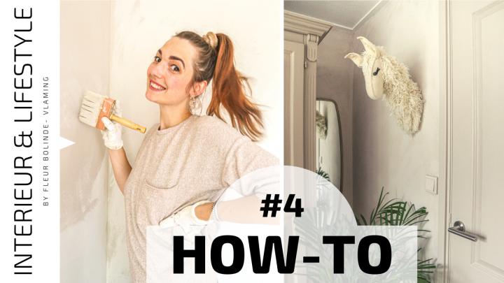 HOW TO #4 Kalkverf op de muur aanbrengen, zo doe jedat!