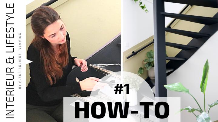 HOW-TO #1 Een houten trap schilderen: van voorwerk totcoaten
